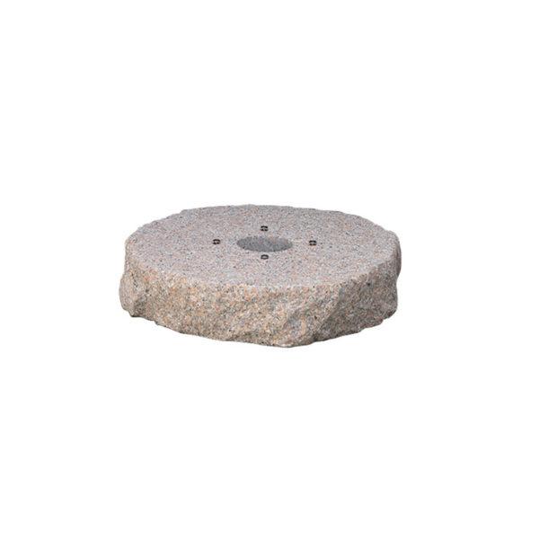 42/BSG: Base in granito rosa preforata