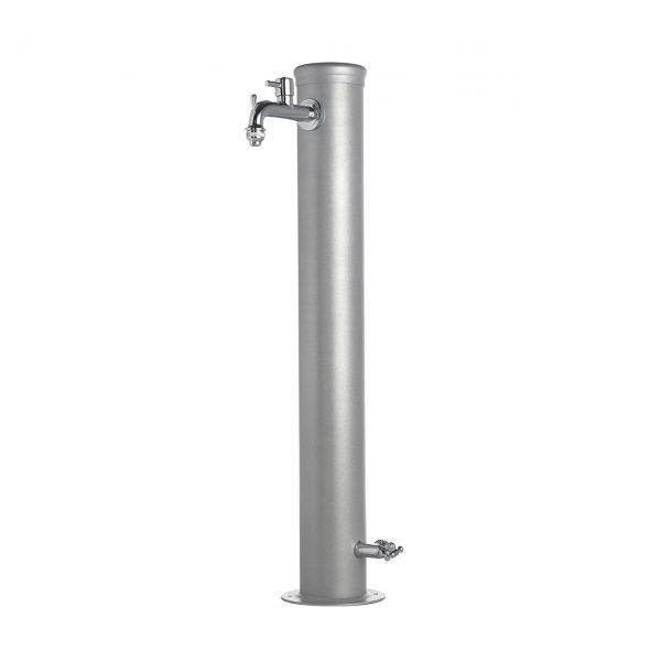 42/ARR: Fontana da giardino in ferro completa di impianto e doppio rubinetto