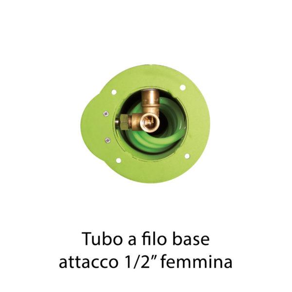 """Tubo a filo base 1/2"""" femmina"""