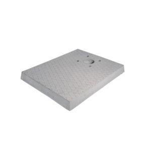 42/BSC/3: Base in cemento rettangolare