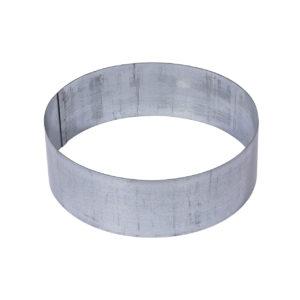 42/BTZ: Base in acciaio zincato a caldo da interrare, per riempimento ciottoli