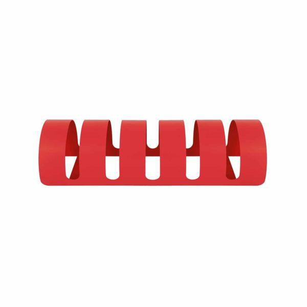 42/PB/11: Portabici color rosso