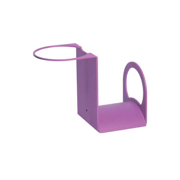42/PG: Porta-gomma in ferro color viola