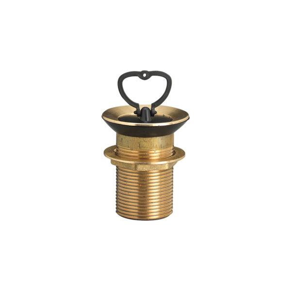 PIL/001: Piletta grande in ottone, per fori diametro da 40 a 55 mm