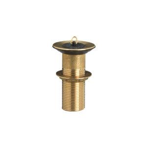 PIL/002: Piletta piccola in ottone, per fori diametro da 30 a 50 mm