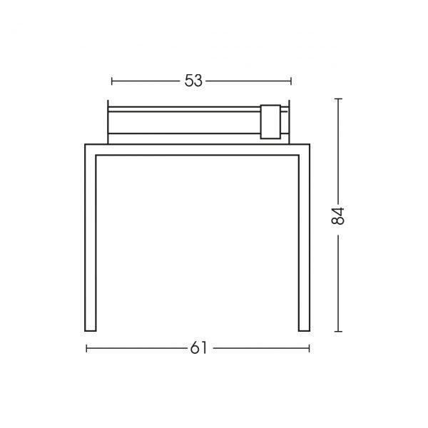 Dimensioni barbecue 1219TV50P