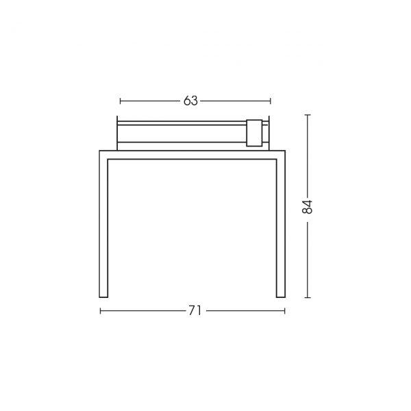 Dimensioni barbecue 1219TV60P