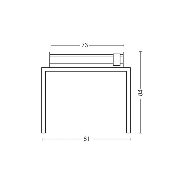 Dimensioni barbecue 1219TV70P