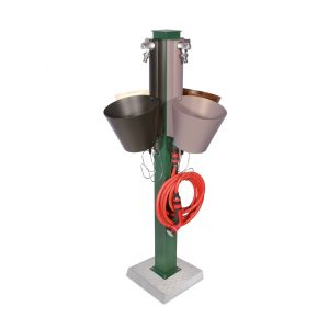 42/AEPRS: Espositore di fontane a parete modello 42/PRS
